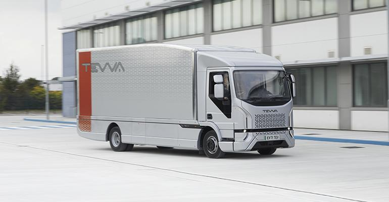 2_The Tevva Truck_New British designed and manufactured zero tailpipe emission fully electric truck launch at Freight in the City Expo at Alexandra Palace 28 September.jpg