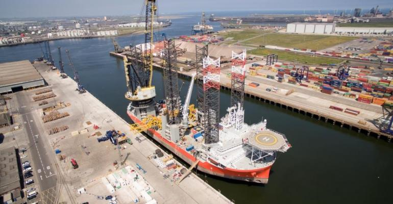PD Ports welcomes biggest wind farm installation vessel in the world