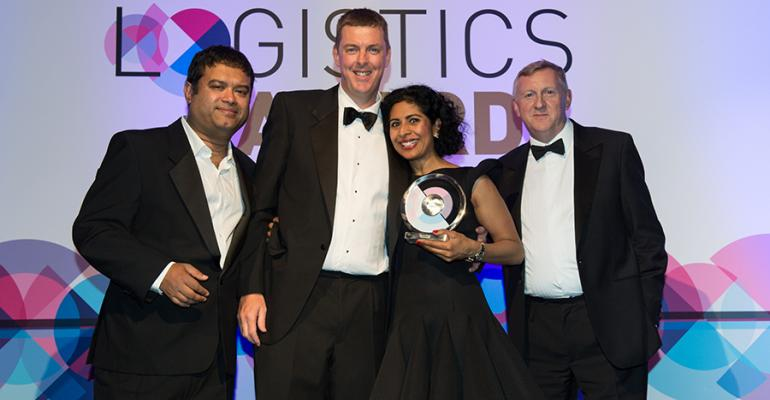 Healthcare organisations shine at The Logistics Awards