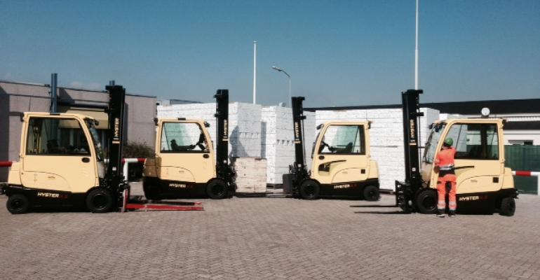 VBI in Netherlands orders Hyster fork lifts with battery extraction feature