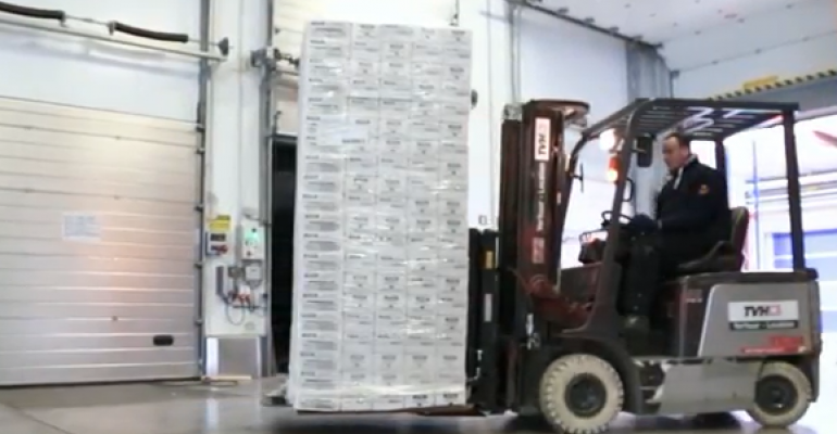 Video: Push-pull system for forklift drivers