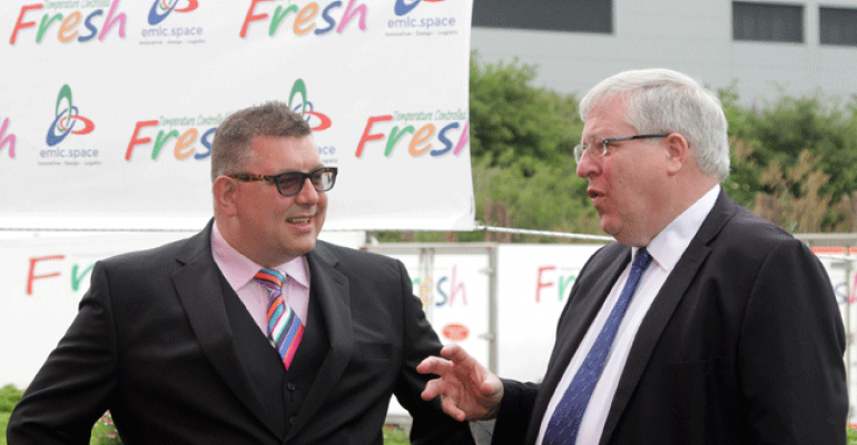 East Midlands Logistcs Centre opened by the RT Hon Patrick McLoughlin MP