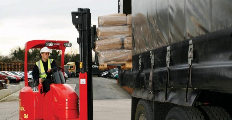 Space saving forklifts at the CV Show