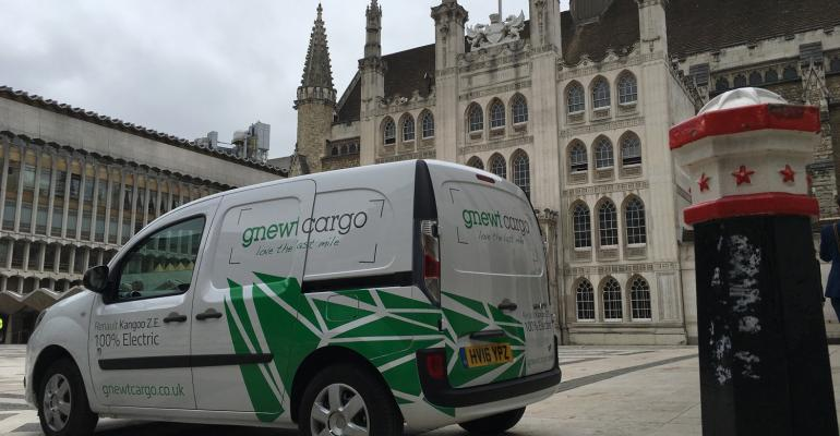 Menzies Distribution acquires UK's largest all-electric delivery fleet