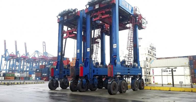 Kalmar supplies straddle carriers to HHLA's Burchardkai container terminal