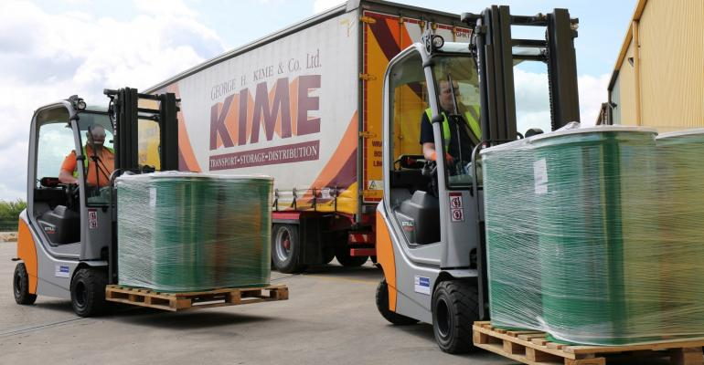 Family owned logistics provider invests in premium Windsor forklifts