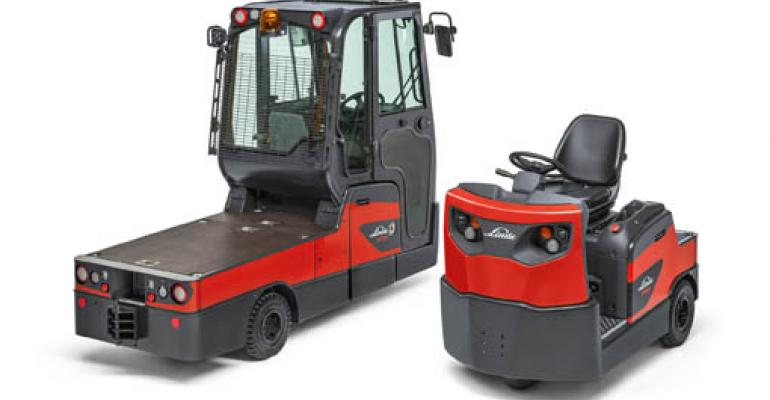 Linde launches new range of tow tractors