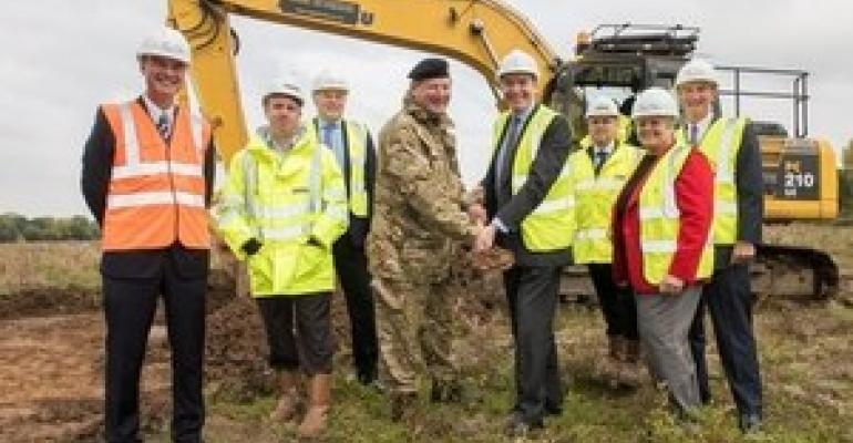 Work begins on £83m defence fulfilment centre in Donnington