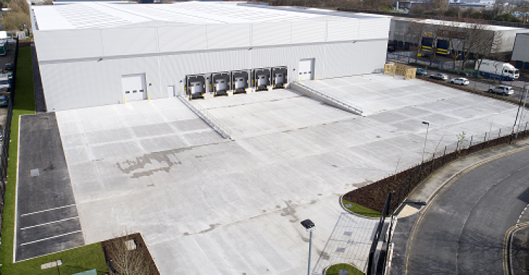 DTZi & Graftongate complete major new spec shed at Trafford Park