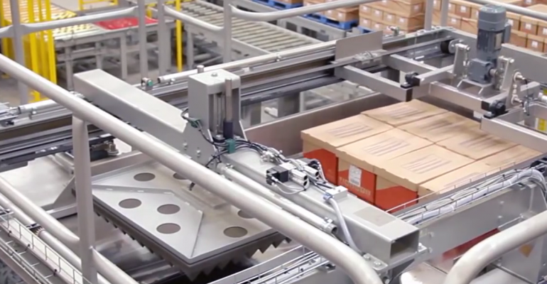 Video: fully automated cosmetics warehouse