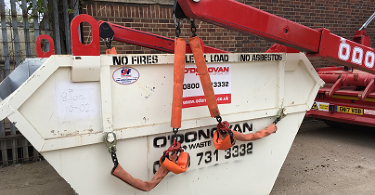 O'Donovan reduces noise levels by 20% with skip chain covers