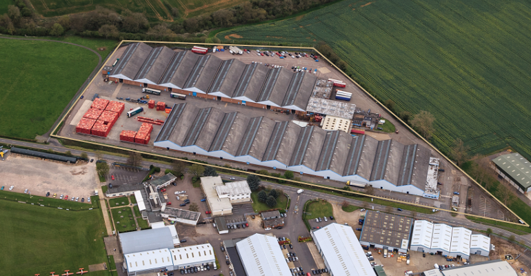 Major industrial unit in renowned 'Golden Triangle' for sale at £7.4 million