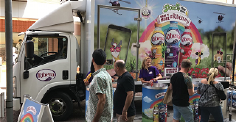 Fresh Logistics begins chilled bottles sampling campaign with TRO and Ribena