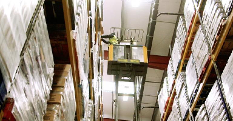 Video: Trucks in action at Boughey Distribution