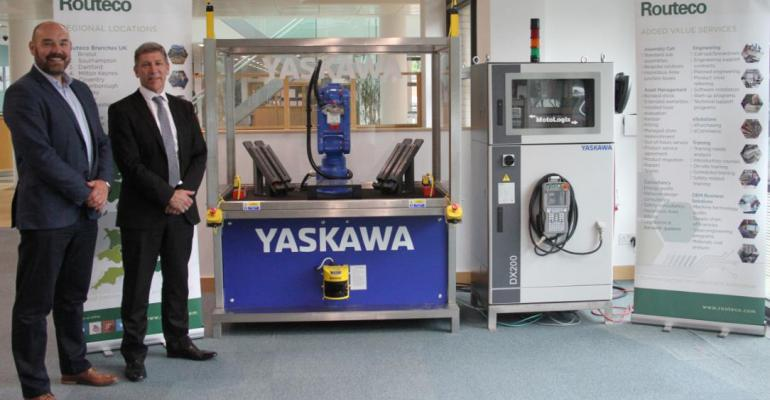 Yaskawa announces commercial partnership with Routeco