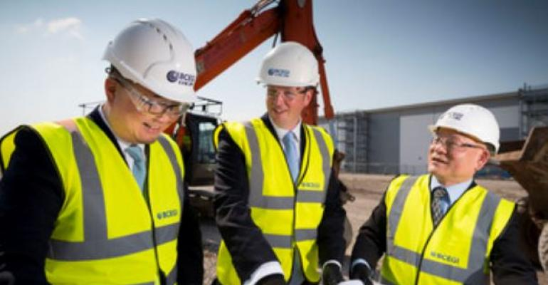 Work starts on Alpha at Airport City Manchester
