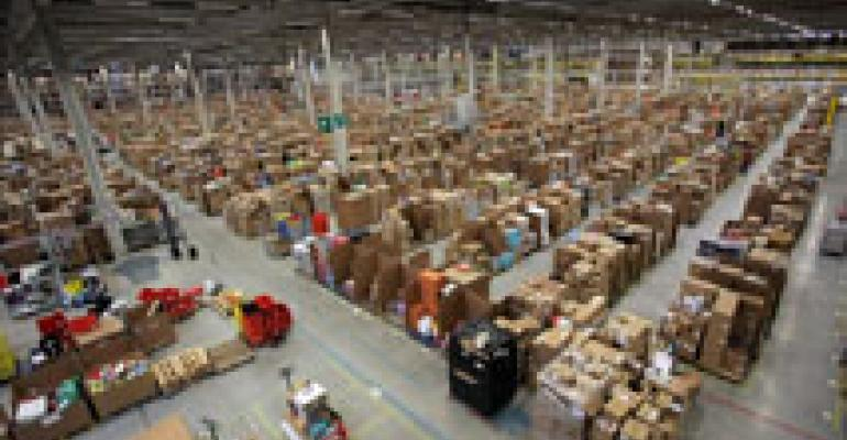 Amazon scoops lion's share of big-shed space