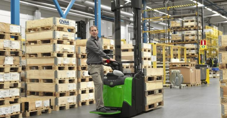 Cesab's new stackers feature a host of innovations