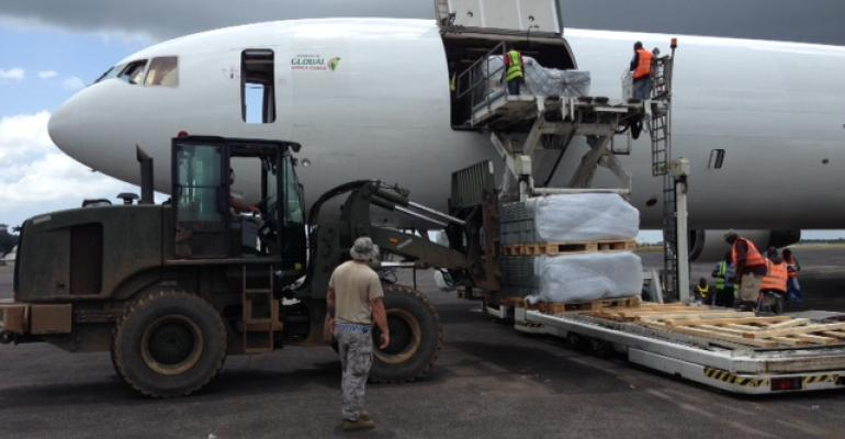 CEVA airlifts supplies for Ebola response