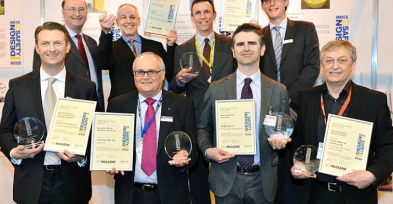 Design4Safety awards at IMHX 2016