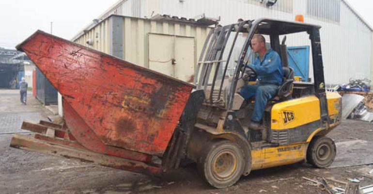 Vintage JCB Teletruk going strong after 17 years