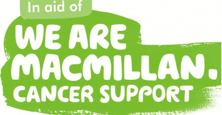 Win a fork lift truck for £50 and help raise funds for Macmillan