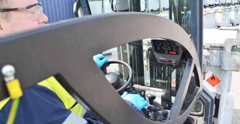 Pyroban to sponsor RTITB Forklift Operator of the Year competition