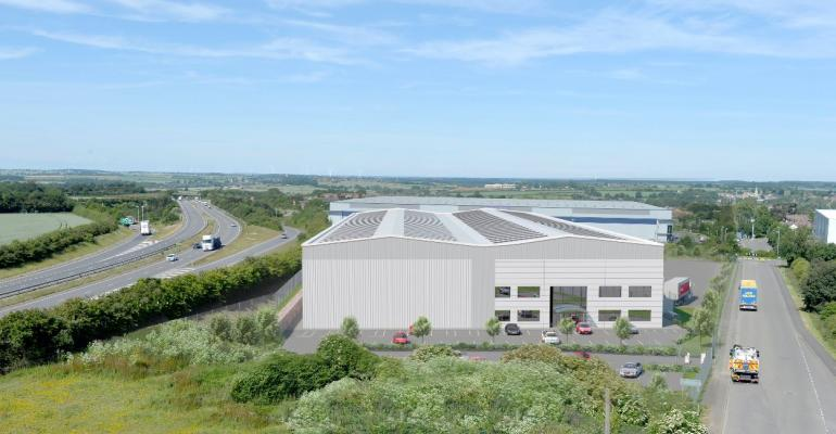 100,000k sq ft spec shed to be built at Thrapston