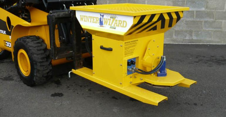 Quality salt spreader makes an impact with Impact