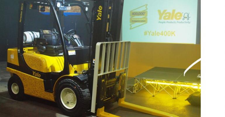 Yale donates 400,000th Craigavon truck to Oxfam