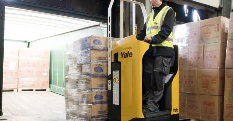 """Yale rider pallet truck brings """"new levels of productivity"""""""