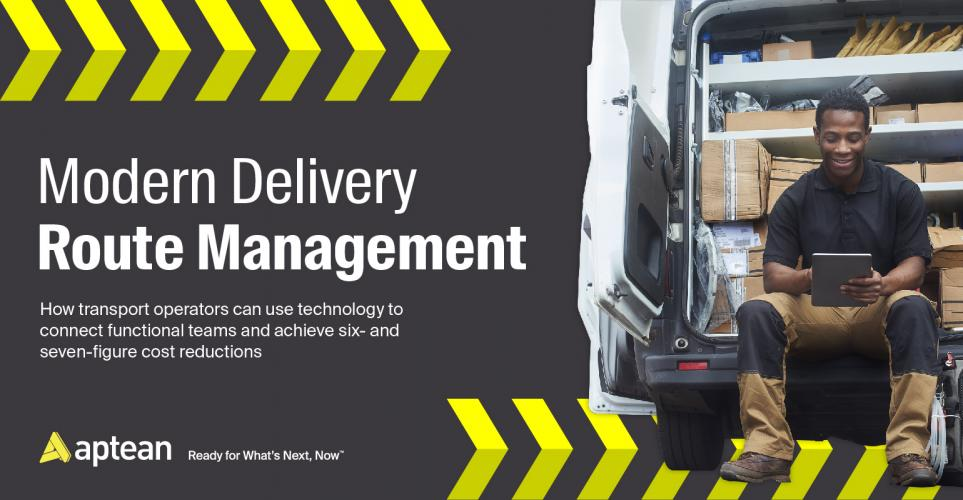 Whitepaper: Modern Delivery Route Management