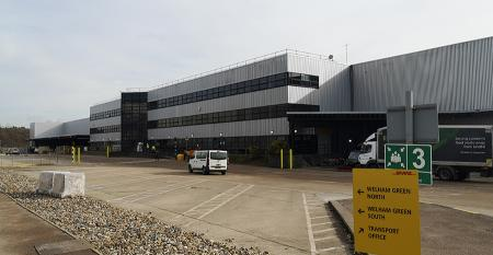 M&S and DHL gear up for Welham Green distribution centre opening