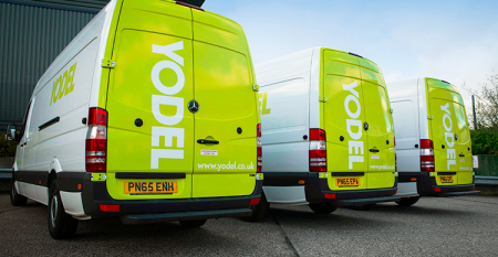 Yodel unveils revolutionary automated sortation facility to handle out of gauge parcels
